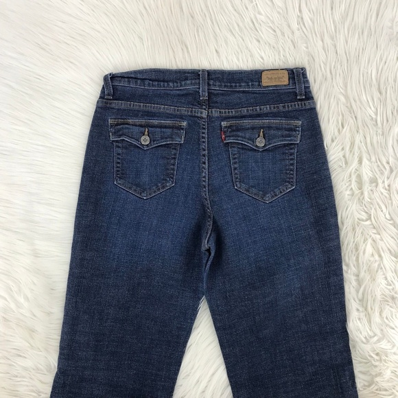 9285918bda5 Levi's Jeans | Levis Perfectly Slimming 512 Boot Sz 12 X 30 813 ...